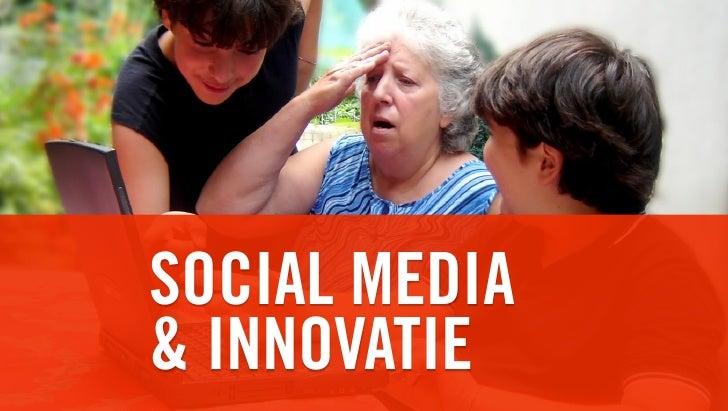 Socialmedia & innovatie