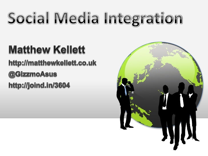 Social media integration #phpnw11