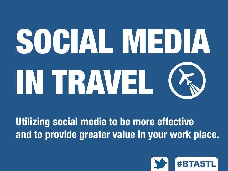 Social Media in Travel