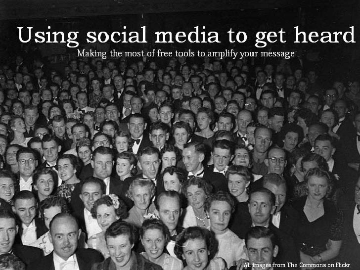 Social media introduction for small organisations