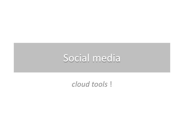 Social media introduction - West-Vlaamse politieschool