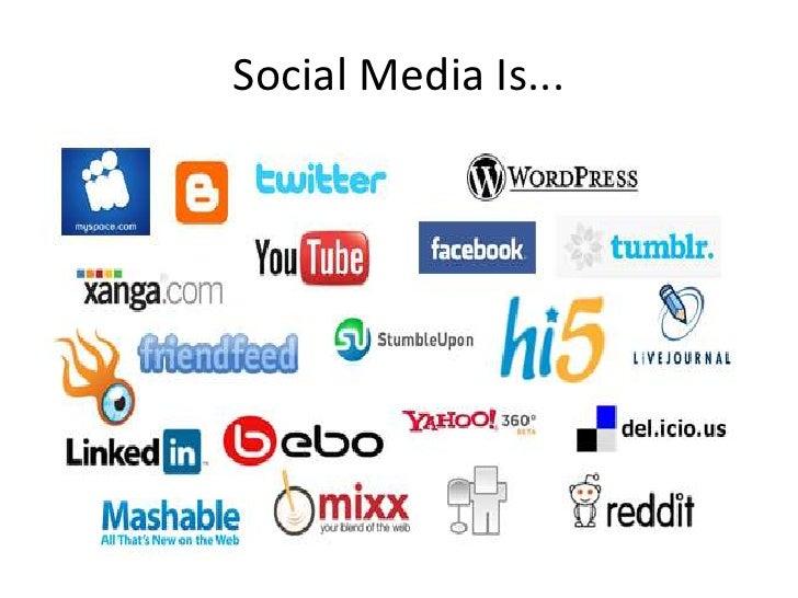 Social Media Is...<br />