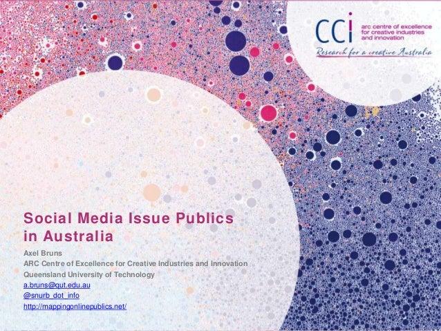 Social Media Issue Publics in Australia
