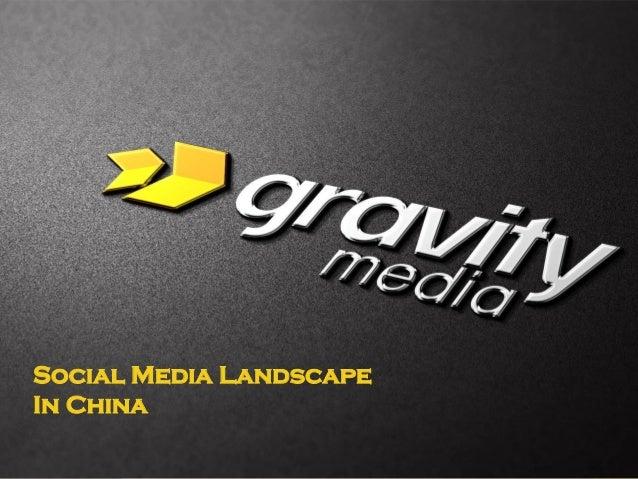 1 Social Media Landscape In China