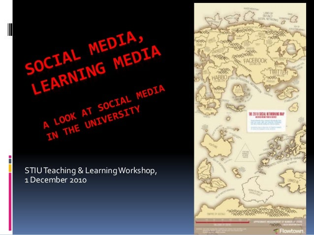 STIUTeaching & LearningWorkshop, 1 December 2010