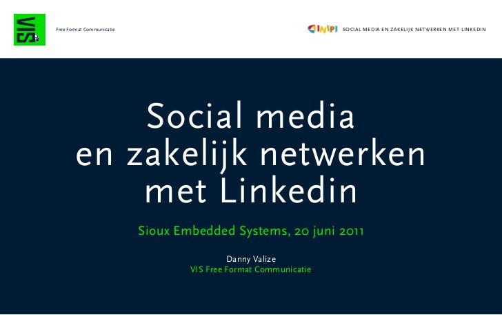 Social media Linkedin Sioux