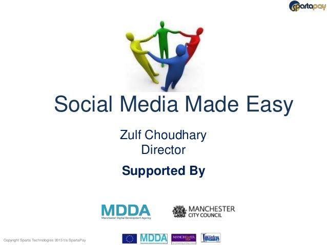 Social Media Made Easy                                                   Zulf Choudhary                                   ...