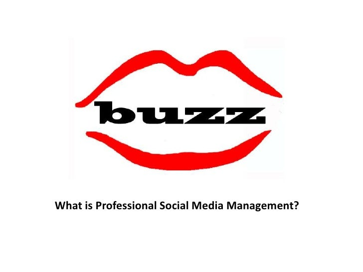 What is Professional Social Media Management?<br />