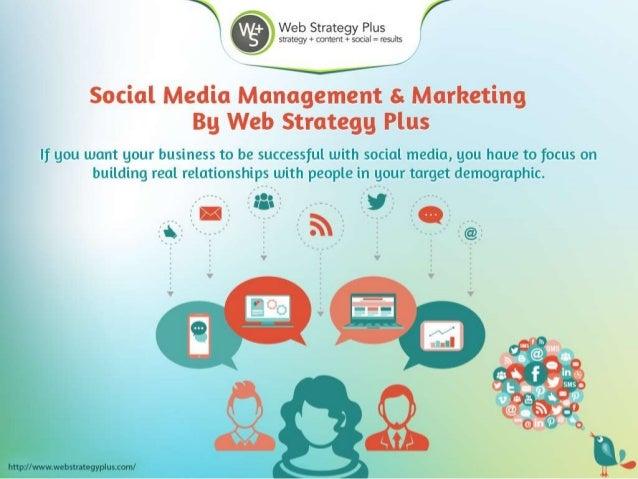 Social Media Management & Marketing - Web Strategy Plus