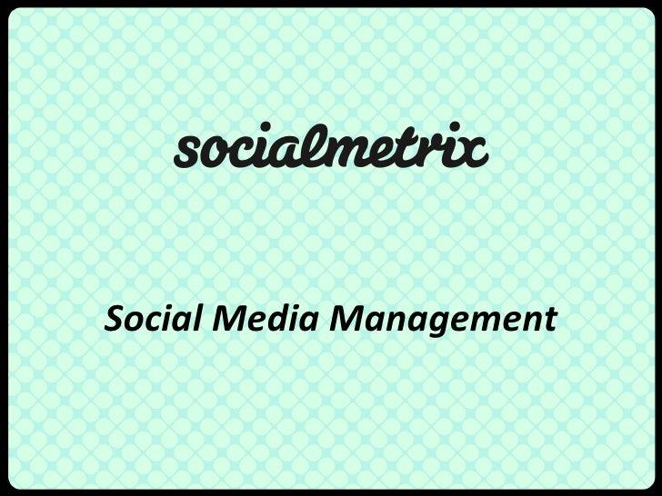 Social media management up