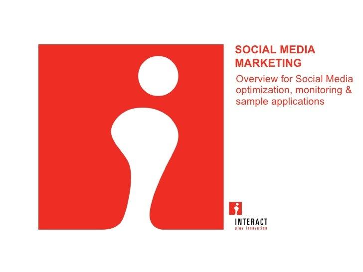 Interact Egypt: Social Media Marketing