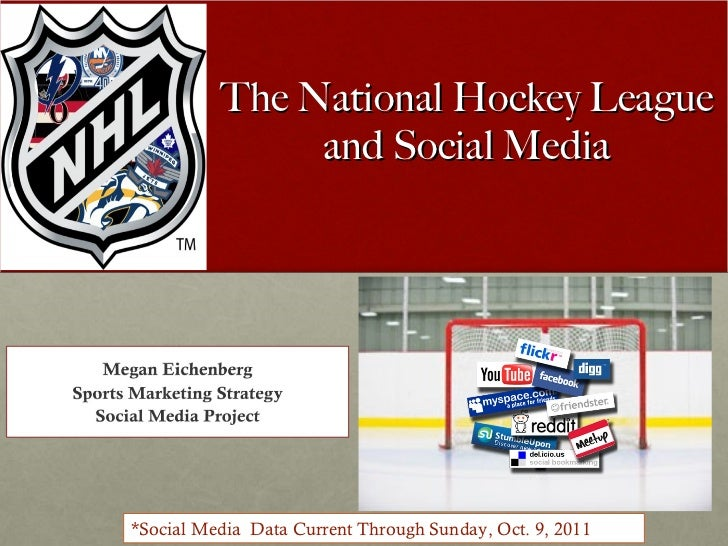 The NHL and Social Media