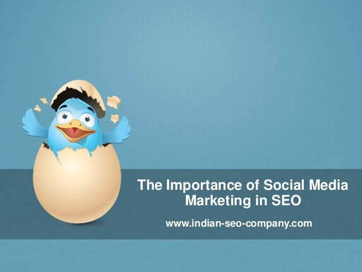 The Importance of Social Media Marketing in SEO