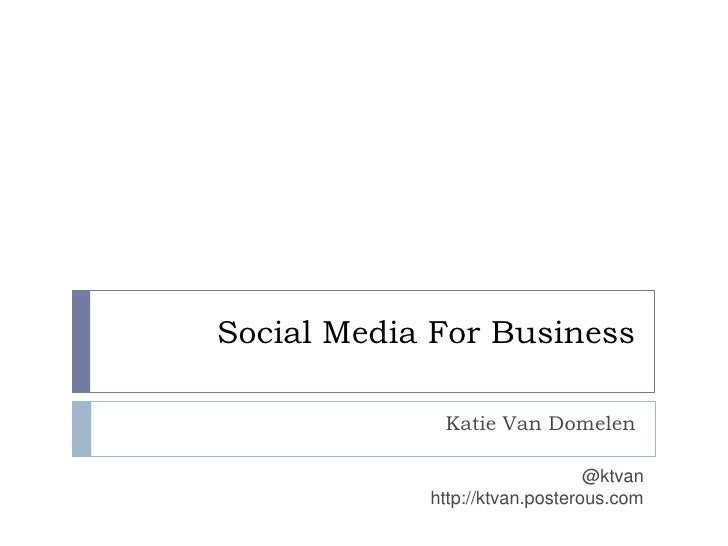 Social Media Marketing   Asu Class Feb 2010