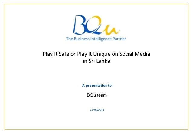 Social media marketing in Sri Lanka