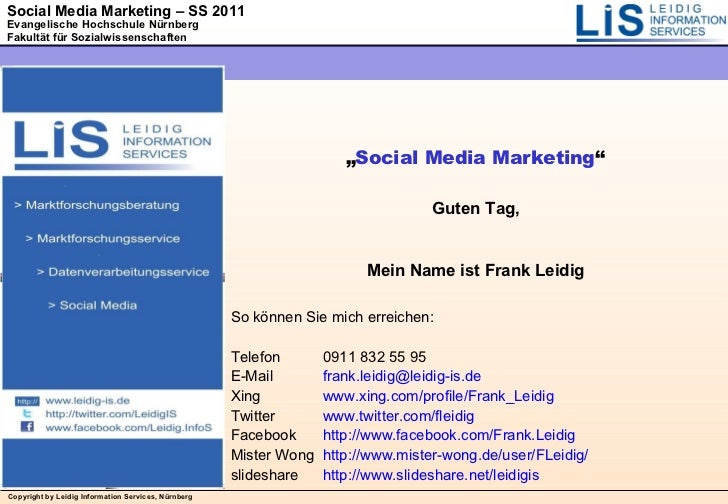 Social Media Marketing 01 Einführung in Social Media Marketing