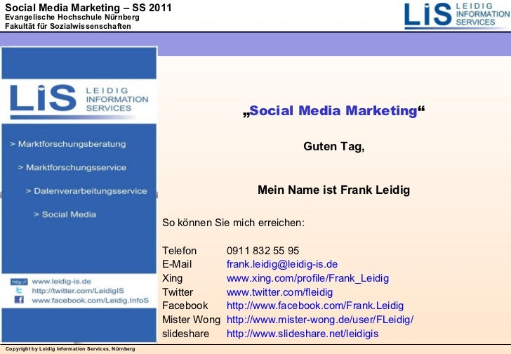 Social Media Marketing_07 Facebook Fanseiten Strategien