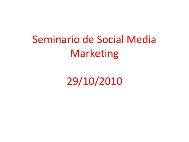 Clase de cierre del Seminario de Social Media Marketing en Universidad de Palermo