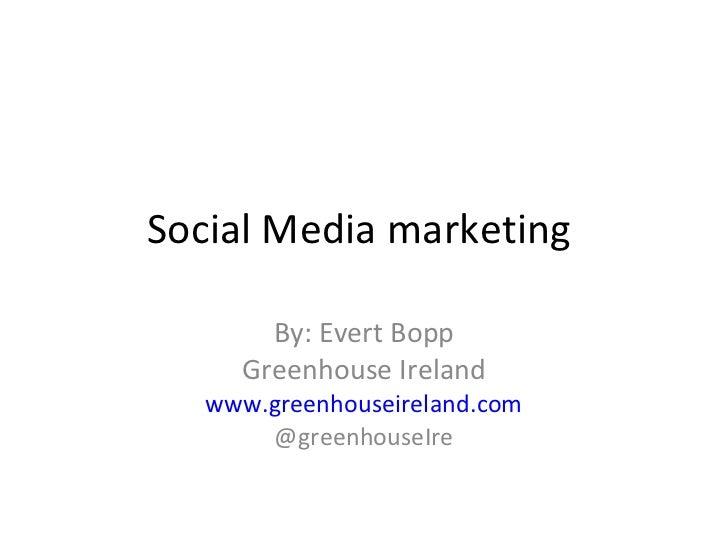 Social media marketing 2