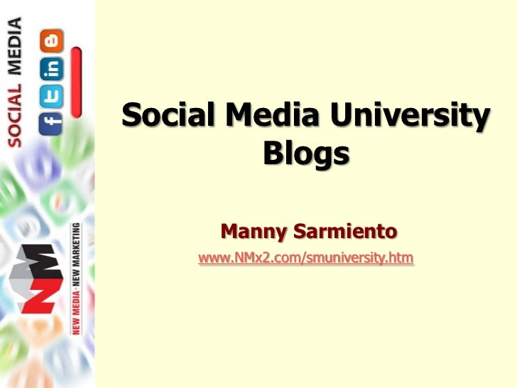 Social media marketing blogs 010411