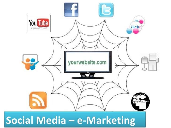 Social Media – e-Marketing