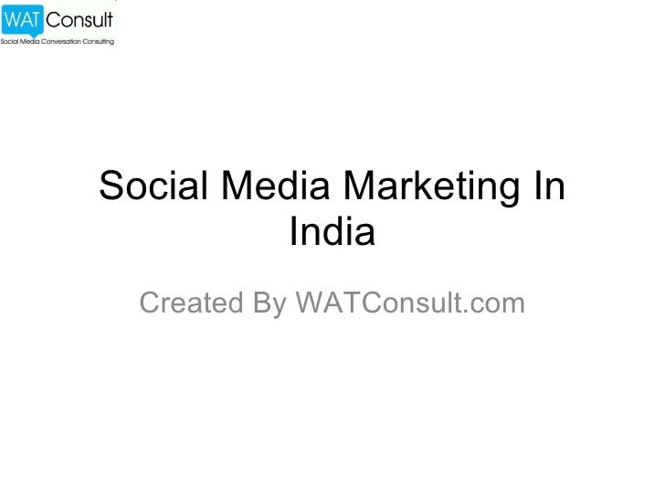 Social Media Marketing In India