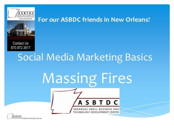 Basics of Social Media Marketing