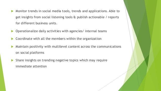 Job Social Media Social Media Marketer Job Description Social
