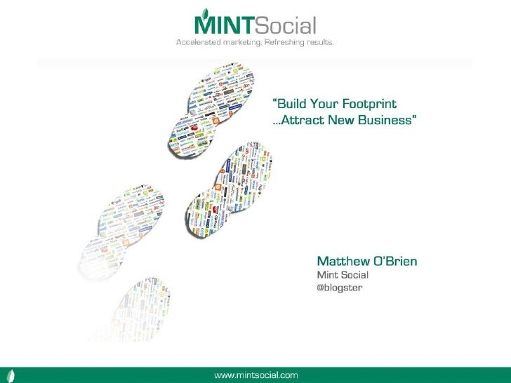 Social media marketing by Mint Social