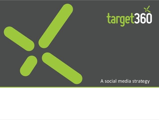 A social media strategy