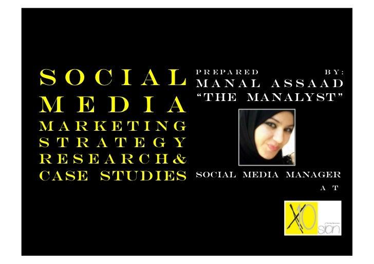 """Social            P r e pa r e d                  Manal Assaad                                   b y:                  """"Th..."""