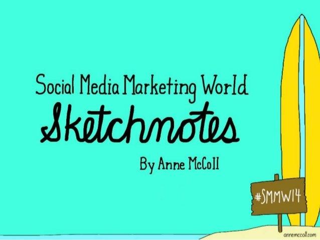 Social Media Marketing World Sketchnotes – #smmw14