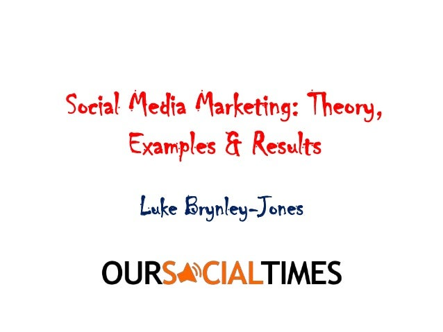 Social Media Marketing - Theory, Case Studies & Results