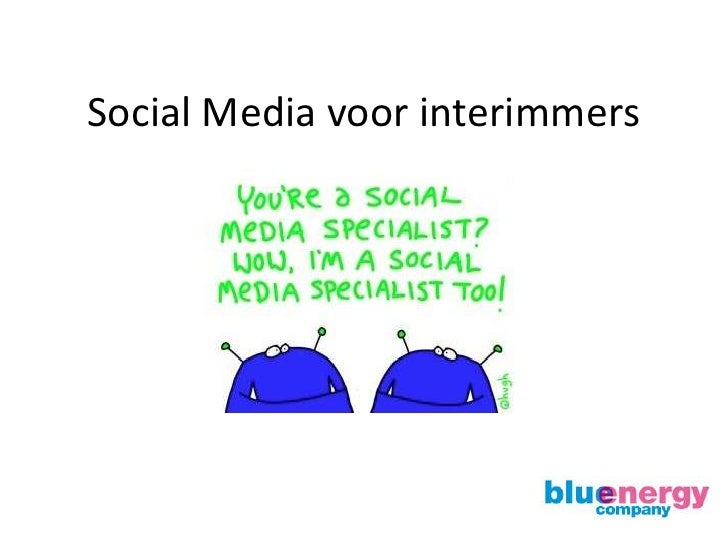 Social Media voor interimmers<br />