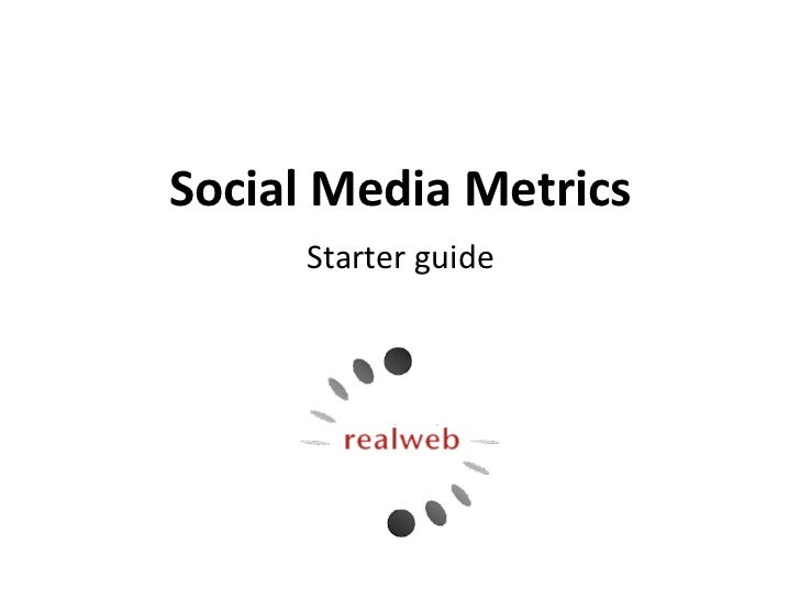 Social Media Metrics for Newbies [ITA]