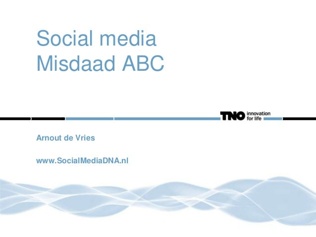 Social Media Misdaad ABC