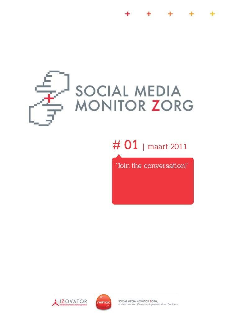 Social Media Monitor Zorg maart 2011