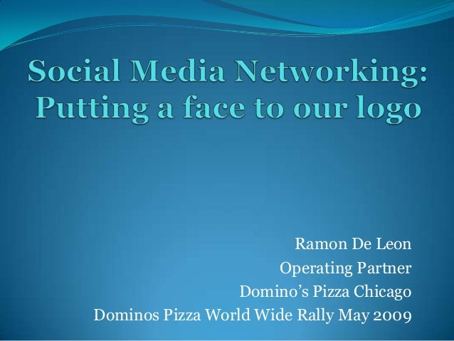 Ramon De Leon Operating Partner Domino's Pizza Chicago Dominos Pizza World Wide Rally May 2009