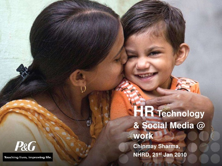 HR Technology & Social Media @ work<br />Chinmay Sharma,<br />NHRD, 21st Jan 2010<br />