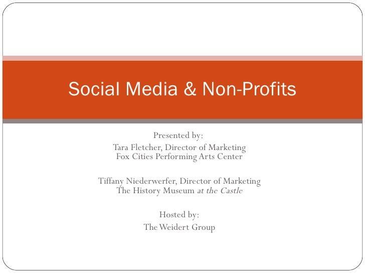 Social Media Non Profits Outline