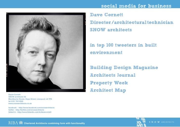 social media for business                                                                          Dave Cornett           ...