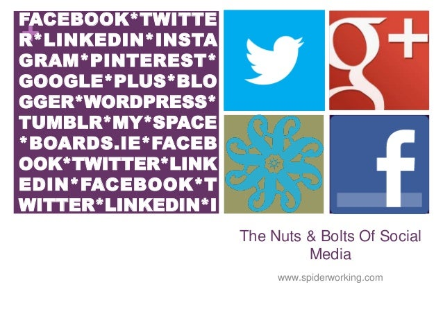 Social Media The Nuts And Bolts For Irish College of General Practitioners Winter Conference