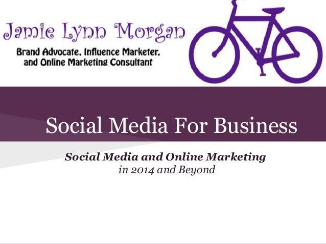 Social Media & Online Marketing Boot Camp 2014