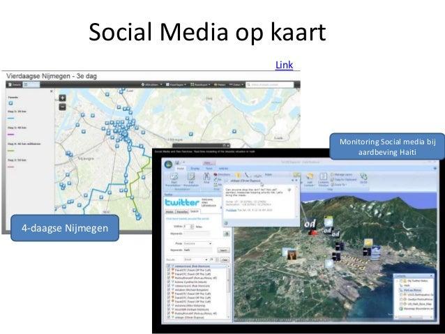 Social media op kaart
