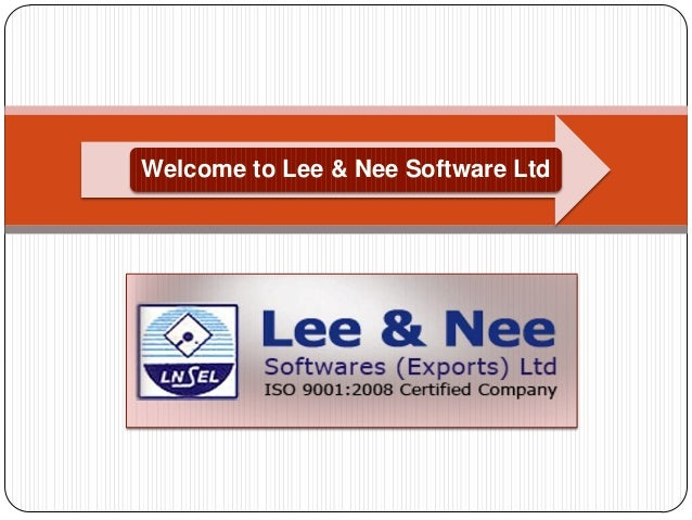 Welcome to Lee & Nee Software Ltd