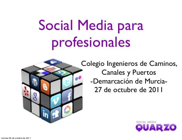 Social Media para profesionales