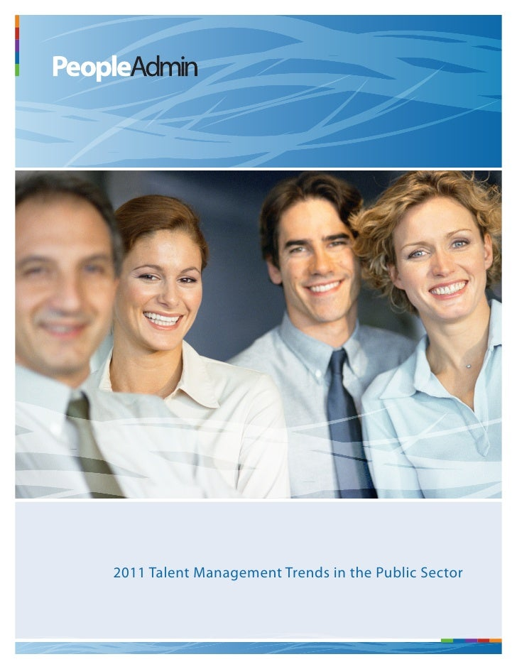 Talent Management Trends in the Public Sector Report