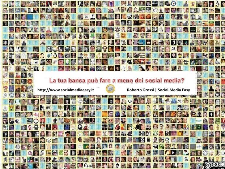 Social Media Per Le Banche