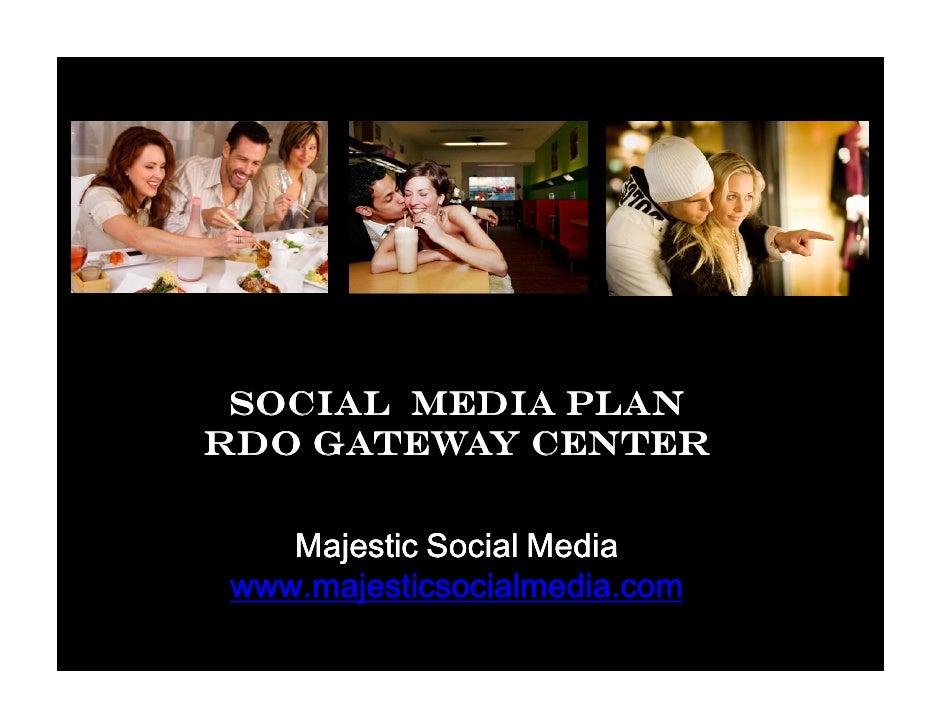 Social media pitch rdo gateway