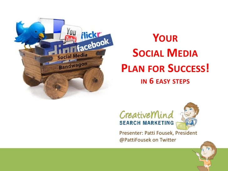 Your Social Media Plan for Success! In 6 Easy Steps